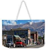 Main Town Street Weekender Tote Bag