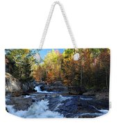 maine 38 Baxter State Park South Branch Stream Weekender Tote Bag
