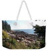 Maine Atlantic Ocean Coast Weekender Tote Bag