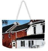 Maine Blue Hill Alleyway Weekender Tote Bag