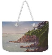 Maine Coast Abode - Art By Bill Tomsa Weekender Tote Bag