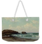 Maine Coast, C.1885 Oil On Canvas By Alfred Thompson Bricher Weekender Tote Bag