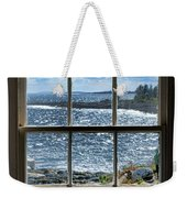 Maine Coast Picture Frame Weekender Tote Bag