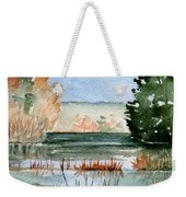 Maine Fall Reflections Weekender Tote Bag