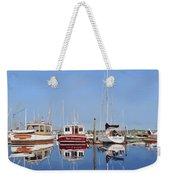 Maine Marina Evening Weekender Tote Bag