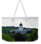 Maine State House Weekender Tote Bag