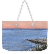Maine Sunset Weekender Tote Bag