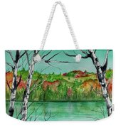 Maine's Autumn Finery Weekender Tote Bag