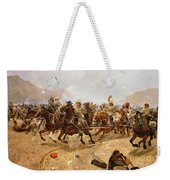 Maiwand Weekender Tote Bag by Richard Caton II Woodville