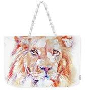 Majestic African Lion Weekender Tote Bag