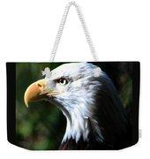 Majestic Bald Eagle Weekender Tote Bag
