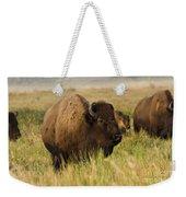 Majestic Bison Weekender Tote Bag
