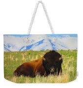 Majestic Buffalo  Weekender Tote Bag