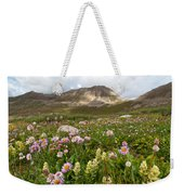 Majestic Colorado Alpine Meadow Weekender Tote Bag