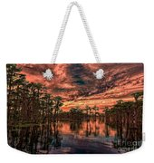 Majestic Cypress Paradise Sunset Weekender Tote Bag