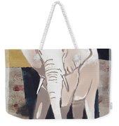 Majestic Elephant Weekender Tote Bag