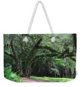 Majestic Fern Covered Oak Weekender Tote Bag