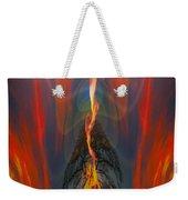 Majestic Fire Weekender Tote Bag