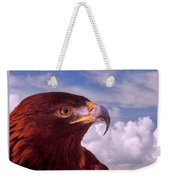Majestic Golden Eagle Weekender Tote Bag
