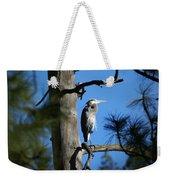 Majestic Great Blue Heron 1 Weekender Tote Bag