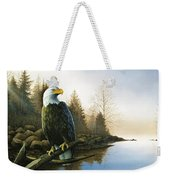 Majestic Light - Eagle Weekender Tote Bag