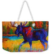 Majestic Monarch - Moose Weekender Tote Bag