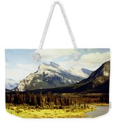 Majestic Mount Rundle Weekender Tote Bag