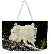 Majestic Mountain Goat Weekender Tote Bag