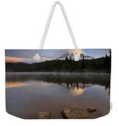 Majestic  Rainier Dawn Weekender Tote Bag