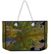 Majestic Trees Abstract Poster 2 Weekender Tote Bag