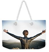Majestic Wave Weekender Tote Bag