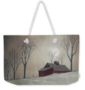 Majestic Winter Night Weekender Tote Bag