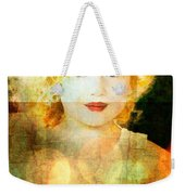 Golden Curls Weekender Tote Bag