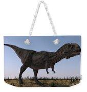 Majungasaurus In A Barren Environment Weekender Tote Bag