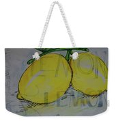 Make Lemonade Weekender Tote Bag