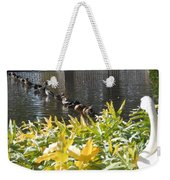 All My Ducks In A Row Weekender Tote Bag