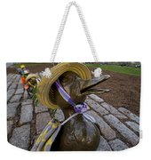 Make Way For Ducklings B.a.a. 5k Spring Bonnet Blanket Weekender Tote Bag