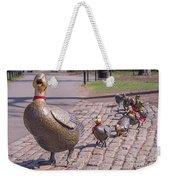 Make Way For The Ducklings Weekender Tote Bag