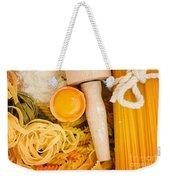Making Pasta Weekender Tote Bag