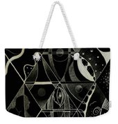 Making Points In Multiple Perspectives - An Inversion Weekender Tote Bag