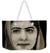 Malala Yousafzai- Teen Hero Weekender Tote Bag
