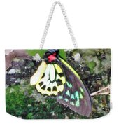 Male Birdwing Butterfly Weekender Tote Bag