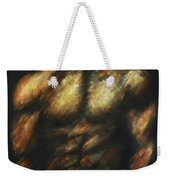 Male Bodybuilder Weekender Tote Bag