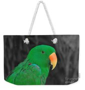 Male Eclectus Weekender Tote Bag