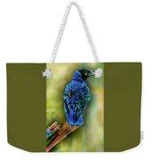 Male Fairy Bluebird Weekender Tote Bag