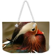 Male Mandarin Duck China Weekender Tote Bag