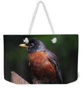 Male Robin Weekender Tote Bag
