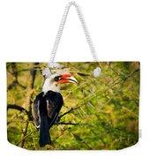 Male Von Der Decken's Hornbill Weekender Tote Bag