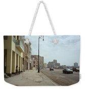 Malecon En Havana Weekender Tote Bag