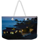 Malibu Beach House - Evening Weekender Tote Bag